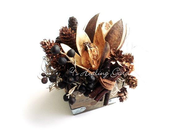 木の実のゲシュテック飾り